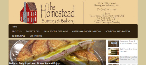 Homestead Buttery and Bakery